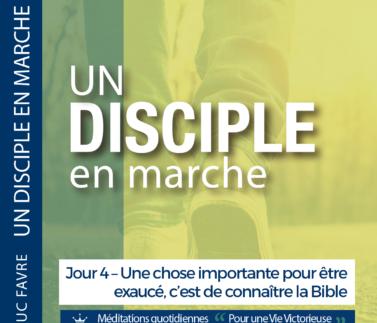 Plan 4 Luc Favre - Jour 4 – Une chose importante pour être exaucé, c'est de connaître la Bible