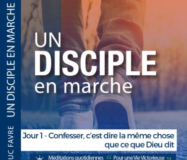 Plan 9 Luc Favre - Jour 1 - Confesser, c'est dire la même chose que ce que Dieu dit Square