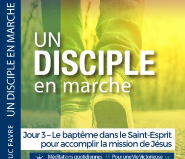 Plan 10 Luc Favre - Jour 3 – Le baptême dans le Saint-Esprit pour accomplir la mission de Jésus Square