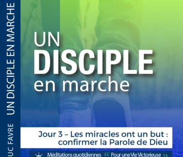 Plan 11 Luc Favre - Jour 3 – Les miracles ont un but - confirmer la Parole de Dieu Square